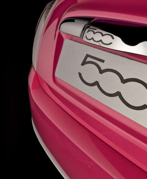 Fiat Pink trasera