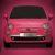 Fiat 500 Pink, sólo 20 unidades en España de este modelo exclusivo totalmente rosa
