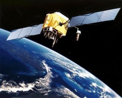 Satélite similar a los usados para GPS
