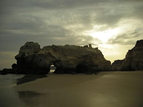 Praia do Vau, en Portimão
