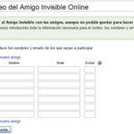 Como hacer el sorteo del amigo invisible con tu ordenador por internet