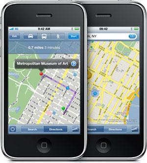 Posicionamiento WiFi en iphone