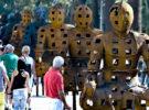 Xavier Mascaró expone su obra Guardianes en la Plaza Nueva de Sevilla