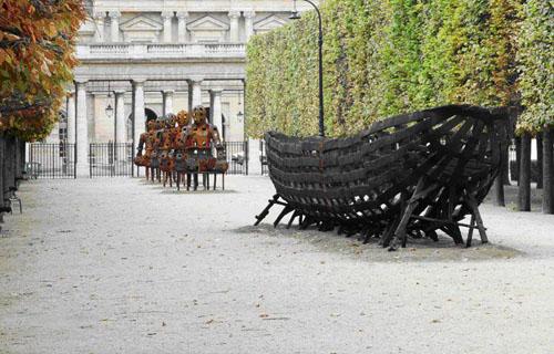 La obra de Xavier Mascaró en París