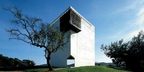 Panorámica de la Casa de Retiro Espiritual de Emilio Ambasz en Sevilla