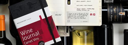 WIne Journal, colección Passions de Moleskine