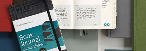 Book Journal, colección Passions de Moleskine