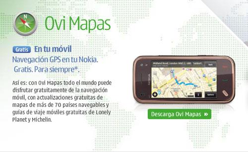 Ovi Maps de Nokia