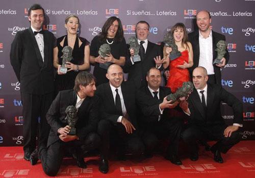 Ocho premios se ha llevado la gran triunfadora, Celda 211, entre ellos mejor película, mejor directos y mejor protagonista. Ágora de Alejandro Amenábar se llevó siete premios, sobre todo en las categorías más técnicas.