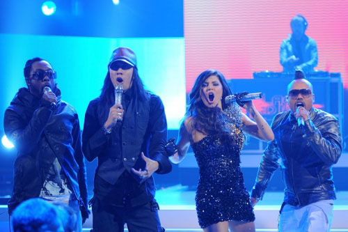 Black Eyed Peas en los Grammy 2010