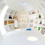 Blob VB3, un original concepto de casa-huevo de los arquitectos dmvA