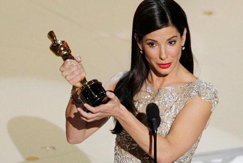 Sandra Bullock Oscar a la mejor actriz por su papel en The blind side