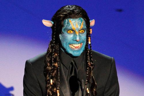 Toque de humor de Ben Stiller disfrazado de Na'vi