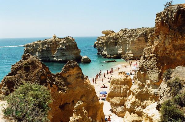 Algarve, playas de Albufeira - Sao Rafael