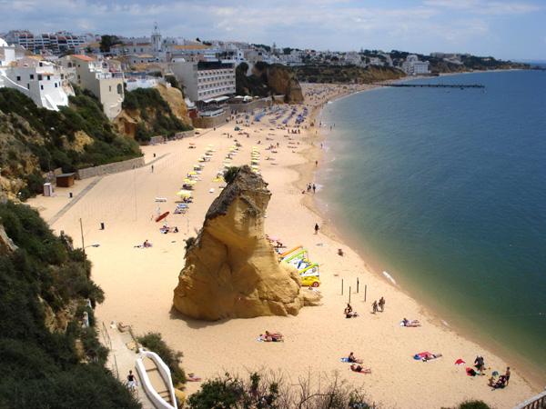 Algarve, Albufeira - Praia do Peneco