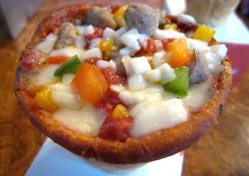 Pizzacone, una nueva forma comer pizza