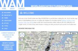 World Architecture Map, para situar las grandes obras de arquitectura en el mapa