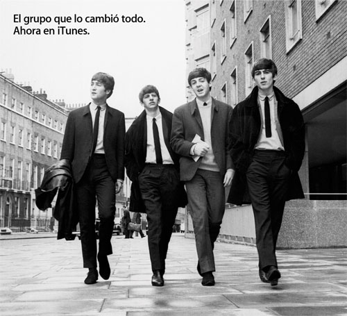 Apple anuncia la llegada de The Beatles a iTunes