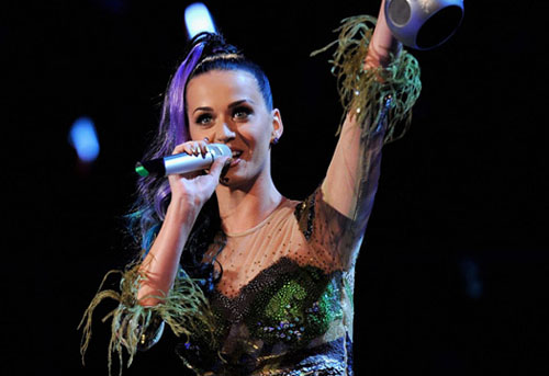 Katy Perry en los EMA 2010