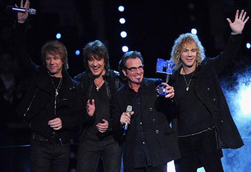 Bon Jovi en los EMA 2010