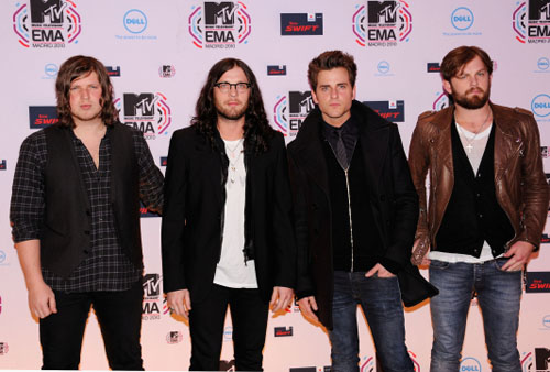 Kings of Leon en los EMA 2010
