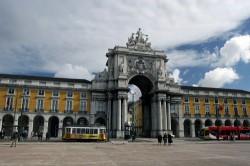 Lisboa, Praça do Comercio