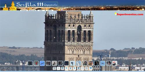 Sevilla 111 Gigapíxeles, gran panorámica interactiva de 111Gpx