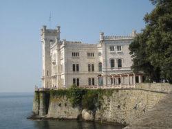 El Castello di Miramare en Trieste