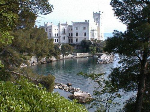 El Castello de Miramare en Trieste