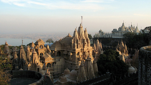 Shatrunjaya en la India
