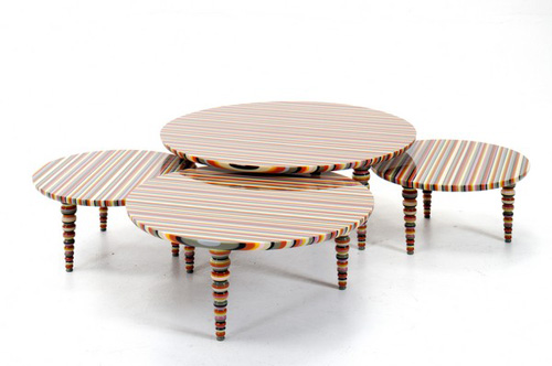 Hybrid Collection, los coloridos muebles de allê por José Marton