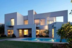 Or House, moderna y minimalista casa de DOMBarchitects en Israel