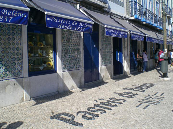 Pastéis de Belém o pastel de nata portugués