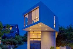 Phinney Ridge Residence, una moderna casa residencial de Pb elemental architecture