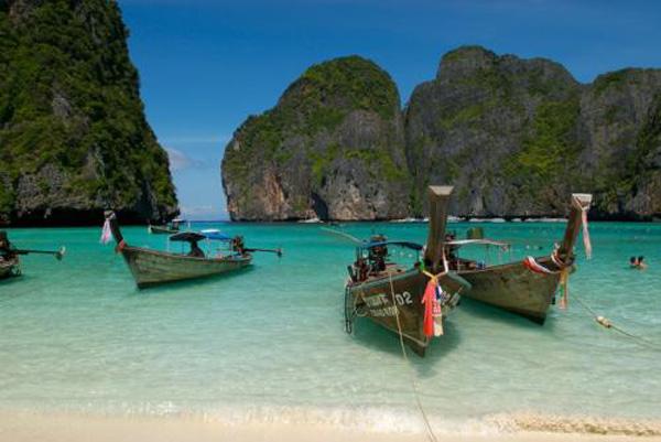 Las Islas Phi Phi en Tailandia
