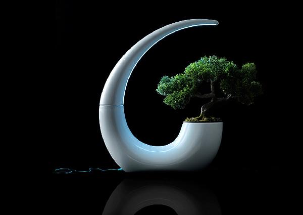GreenLantern, el macetero LED de NudeLab Foto 4