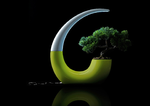 GreenLantern, el macetero LED de NudeLab Foto 8
