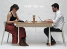 Table for Two. una original mesa con dos funciones