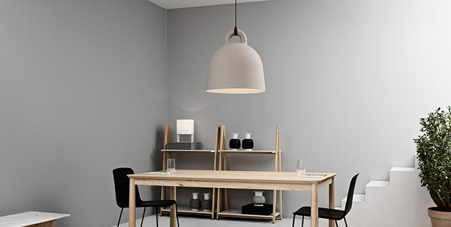 Bell Lamp, una lámpara con forma de campana