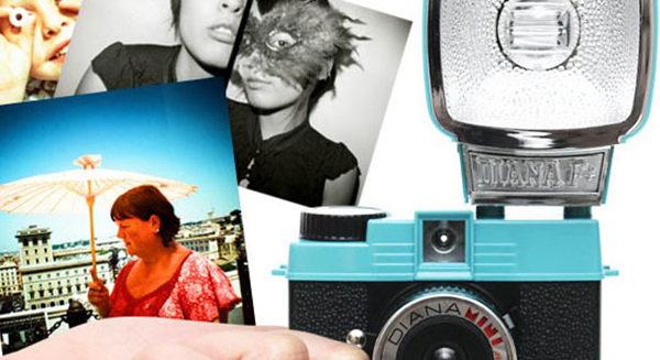 Cámaras lomográficas, fotografías con carrete para rato