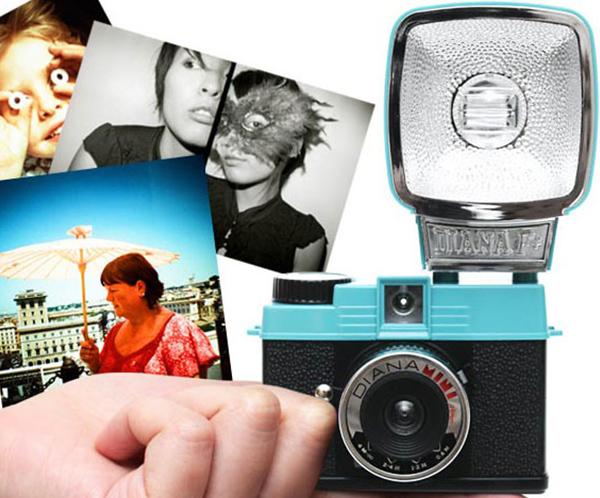 Camara lomográfica Diana+