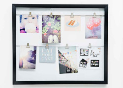 Photo Wall DIY, tutorial muy sencillo y barato para colgar fotos con estilo