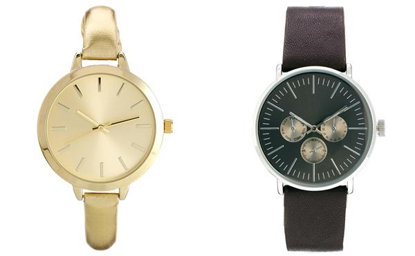 Regalo de reloj para hombre y mujer